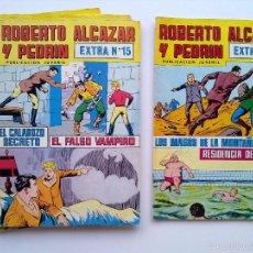 Tebeos: LOTE 6 TEBEOS EXTRA ROBERTO ALCAZAR Y PEDRIN, EDITORIAL VALENCIANA. Lote 57554087