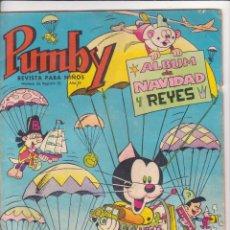 Tebeos: PUMBY ALBUM NAVIDAD Y REYES AÑO 1966. Lote 57687542