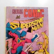 Tebeos: SUPERSONIC MAN Nº 34. COLOSOS DEL COMIC - VALENCIANA - 1979. Lote 57692438