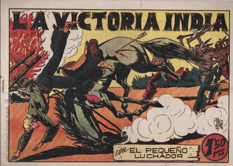 EL PEQUEÑO LUCHADOR Nº 42. VALENCIANA 1945. (Tebeos y Comics - Valenciana - Pequeño Luchador)