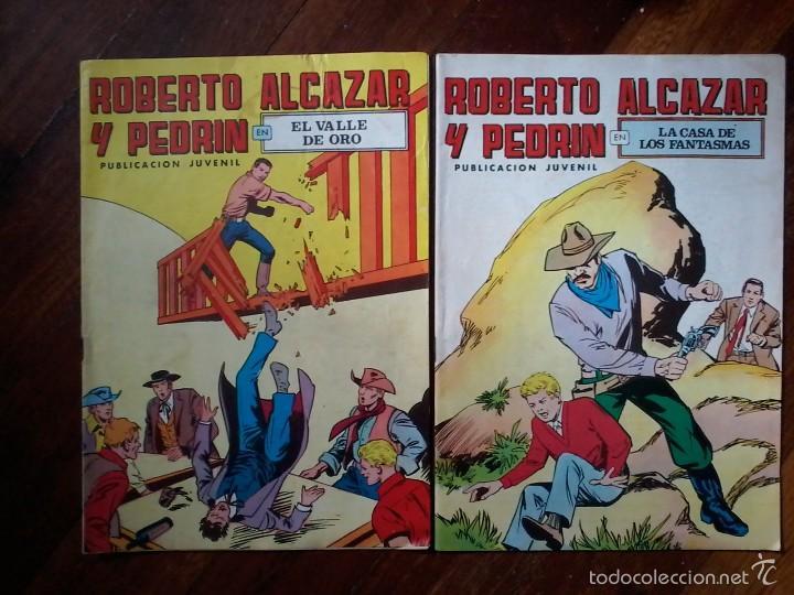 2 TEBEOS DE ROBERTO ALCAZAR Y PEDRIN-AÑOS 70 (Tebeos y Comics - Valenciana - Roberto Alcázar y Pedrín)