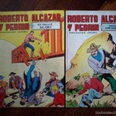 Tebeos: 2 TEBEOS DE ROBERTO ALCAZAR Y PEDRIN-AÑOS 70. Lote 57875507