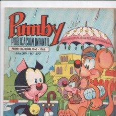 Tebeos: PUMBY Nº 577 VALENCIANA 1955. Lote 57927078