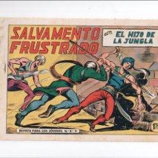 Tebeos: EL HIJO DE LA JUNGLA Nº 46 VALENCIANA 1956. Lote 58156004