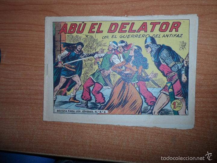 EL GUERRERO DEL ANTIFAZ Nº 328 ORIGINAL EDITORIAL VALENCIANA (Tebeos y Comics - Valenciana - Guerrero del Antifaz)