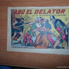 Tebeos: EL GUERRERO DEL ANTIFAZ Nº 328 ORIGINAL EDITORIAL VALENCIANA. Lote 58193413