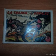 Tebeos: EL GUERRERO DEL ANTIFAZ Nº 112 ORIGINAL EDITORIAL VALENCIANA. Lote 58208003