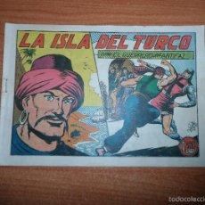 Tebeos: EL GUERRERO DEL ANTIFAZ Nº 122 ORIGINAL EDITORIAL VALENCIANA. Lote 58208006