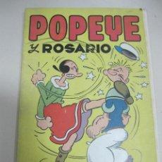 Tebeos: TEBEO POPEYE Y ROSARIO. EDITORIAL VALENCIA.. Lote 58274046
