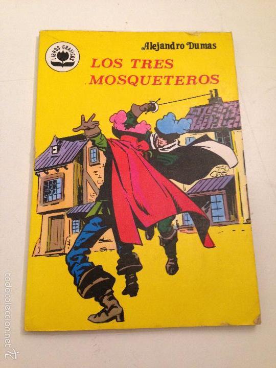 LIBROS GRAFICOS Nº 6. LOS TRES MOSQUETEROS. EDIPRINT VALENCIANA 1982. ALEX NIÑO. (Tebeos y Comics - Valenciana - Otros)