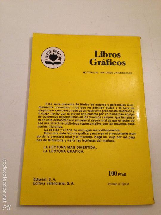 Tebeos: LIBROS GRAFICOS Nº 6. LOS TRES MOSQUETEROS. EDIPRINT VALENCIANA 1982. ALEX NIÑO. - Foto 2 - 58472746