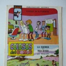Tebeos: COLOSOS DEL COMIC.SUPER 3.NUMERO 5. Lote 58506569