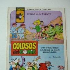 Tebeos: COLOSOS DEL COMIC.SUPER 3.NUMERO 3. Lote 58506587