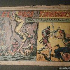 Tebeos: TEBEO - COMIC - EL GUERRERO DEL ANTIFAZ - EL POZO DE LOS TIBURONES - VALENCIANA - Nº 117 - ORIGINAL. Lote 58601019