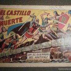 Tebeos: TEBEO - COMIC - EL GUERRERO DEL ANTIFAZ - EL CASTILLO DE LA MUERTE - VALENCIANA - Nº 384 - ORIGINAL. Lote 58601047