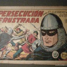 Tebeos: TEBEO - COMIC - EL GUERRERO DEL ANTIFAZ - PERSECUCIÓN FRUSTRADA - VALENCIANA - Nº 130 - ORIGINAL. Lote 58601068