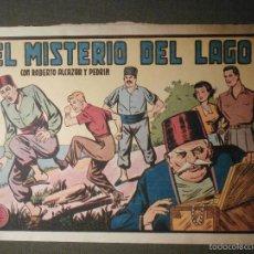 Tebeos: TEBEO - COMIC - ROBERTO ALCAZAR Y PEDRIN - EL MISTERIO DEL LAGO - Nº 266 - ORIGINAL. Lote 58601289
