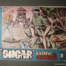 Tebeos: TEBEO - COMIC - SUGAR - CAMPO DE CONCENTRACION - Nº 27 - HISPANO AMERICANA - ORIGINAL. Lote 58601326