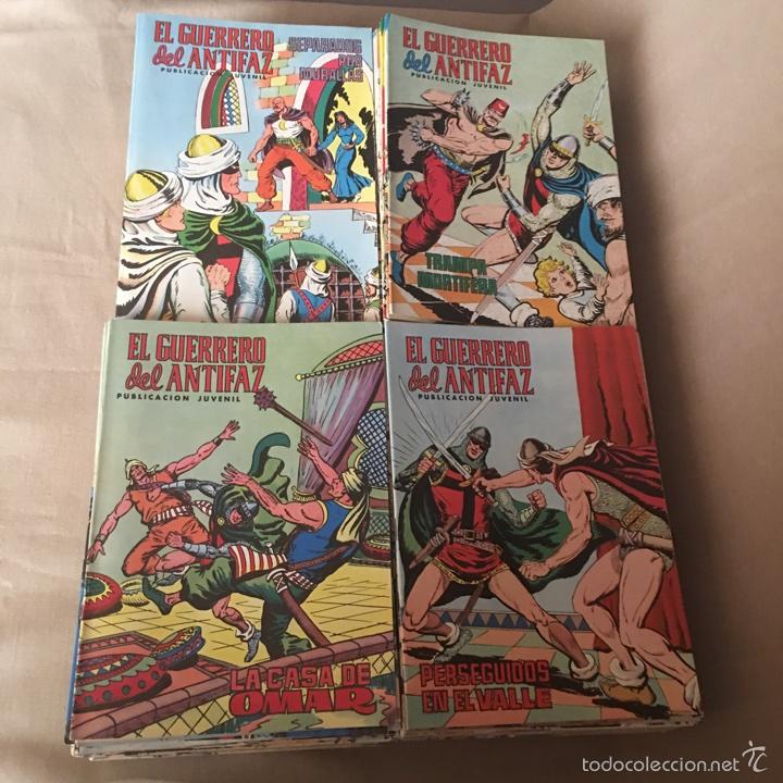 EL GUERRERO DEL ANTIFAZ, COLECCION COMPLETA 343 EJEMPLARES + 13 ESPECIALES ( DE VALENCIANA 1972 ) (Tebeos y Comics - Valenciana - Guerrero del Antifaz)