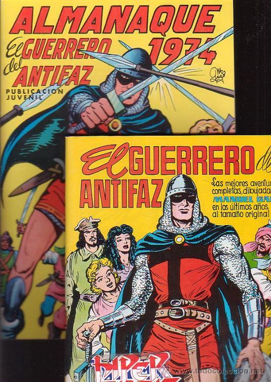 Tebeos: EL GUERRERO DEL ANTIFAZ, COLECCION COMPLETA 343 EJEMPLARES + 13 ESPECIALES ( DE VALENCIANA 1972 ) - Foto 3 - 47321997