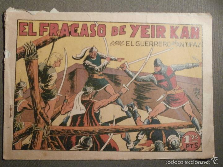 TEBEO - COMIC - EL GUERRERO DEL ANTIFAZ - EL FRACASO DE YEIR KAN - VALENCIANA - Nº 72 - ORIGINAL (Tebeos y Comics - Valenciana - Guerrero del Antifaz)