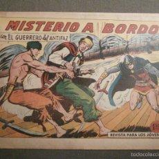 Tebeos: TEBEO - COMIC - EL GUERRERO DEL ANTIFAZ - MISTERIO A BORDO - VALENCIANA - Nº 380 - ORIGINAL. Lote 58644747