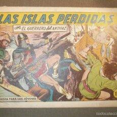 Tebeos: TEBEO - COMIC - EL GUERRERO DEL ANTIFAZ - LAS ISLAS PERDIDAS - VALENCIANA - Nº 389 - ORIGINAL. Lote 58644829