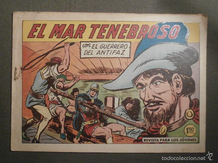 TEBEO - COMIC - EL GUERRERO DEL ANTIFAZ - EL MAR TENEBROSO - VALENCIANA - Nº 388 - ORIGINAL (Tebeos y Comics - Valenciana - Guerrero del Antifaz)