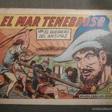 Tebeos: TEBEO - COMIC - EL GUERRERO DEL ANTIFAZ - EL MAR TENEBROSO - VALENCIANA - Nº 388 - ORIGINAL. Lote 58644841