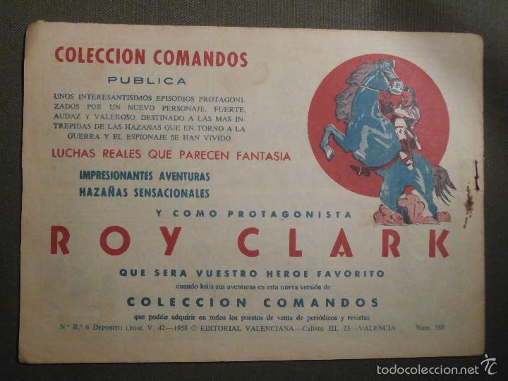 Tebeos: TEBEO - COMIC - EL GUERRERO DEL ANTIFAZ - EL MAR TENEBROSO - VALENCIANA - Nº 388 - ORIGINAL - Foto 2 - 58644841