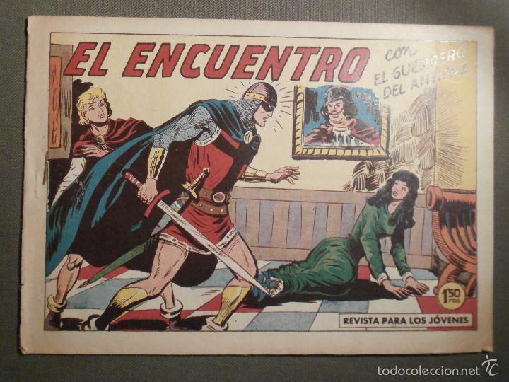TEBEO - COMIC - EL GUERRERO DEL ANTIFAZ - EL ENCUENTRO - VALENCIANA - Nº 386 - ORIGINAL (Tebeos y Comics - Valenciana - Guerrero del Antifaz)