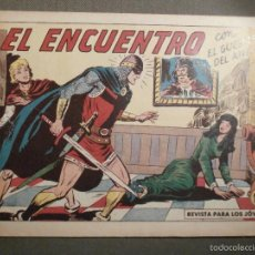 Tebeos: TEBEO - COMIC - EL GUERRERO DEL ANTIFAZ - EL ENCUENTRO - VALENCIANA - Nº 386 - ORIGINAL. Lote 58644873