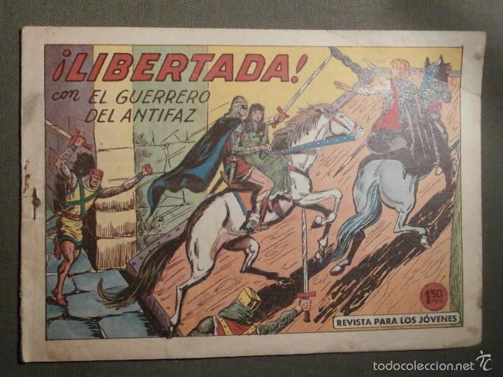 TEBEO - COMIC - EL GUERRERO DEL ANTIFAZ - LIBERTADA - VALENCIANA - Nº 387 - ORIGINAL (Tebeos y Comics - Valenciana - Guerrero del Antifaz)