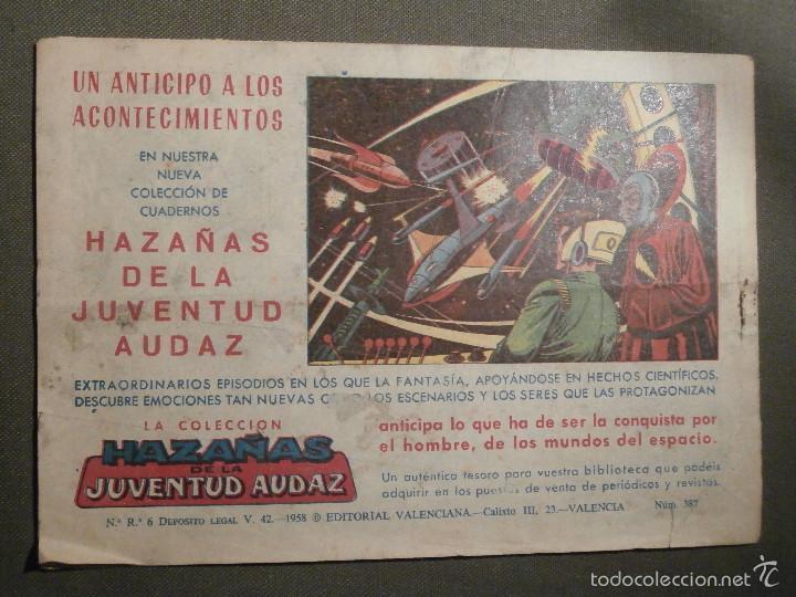 Tebeos: TEBEO - COMIC - EL GUERRERO DEL ANTIFAZ - LIBERTADA - VALENCIANA - Nº 387 - ORIGINAL - Foto 2 - 58644883
