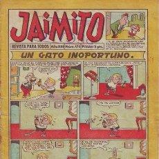 Tebeos: JAIMITO. REVISTA PARA TODOS. Nº 470. AÑO XIII. 11 OCTUBRE 1958. EDITORIAL VALENCIANA.. Lote 58716059