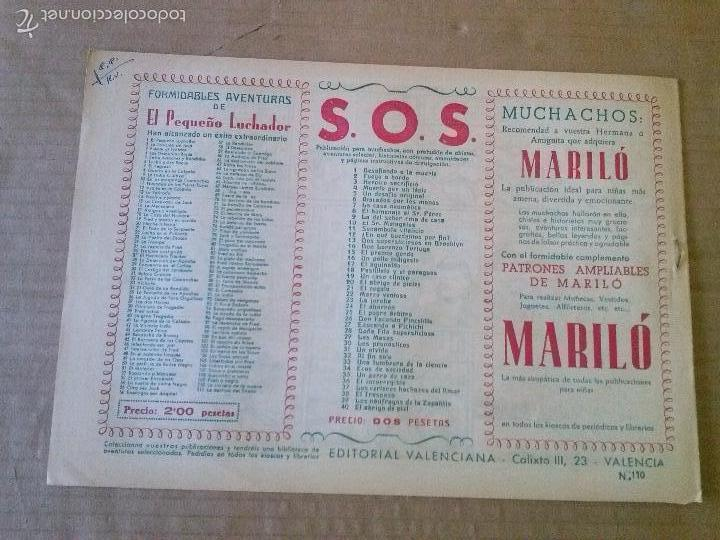 Tebeos: el pequeño luchador nº 110 - valenciana - original - es- cerrado - Foto 2 - 58910495
