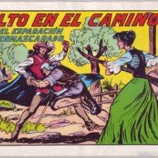 Tebeos: EL ESPADACHÍN ENMASCARADO: ALTO EN EL CAMINO. Nº 61 (1982). Lote 58938320