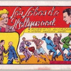 Tebeos: ROBERTO ALCÁZAR Y PEDRÍN: LOS LOBOS DE HOLLYWOOD Nº 40 (1982). Lote 58939105