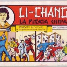 Tebeos: ROBERTO ALCÁZAR Y PEDRÍN: LI-CHANG LA PIRATA CHINA Nº 35 (1982). Lote 58939455