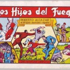 Tebeos: ROBERTO ALCÁZAR Y PEDRÍN: LOS HIJOS DEL FUEGO Nº 34 (1982). Lote 58939670