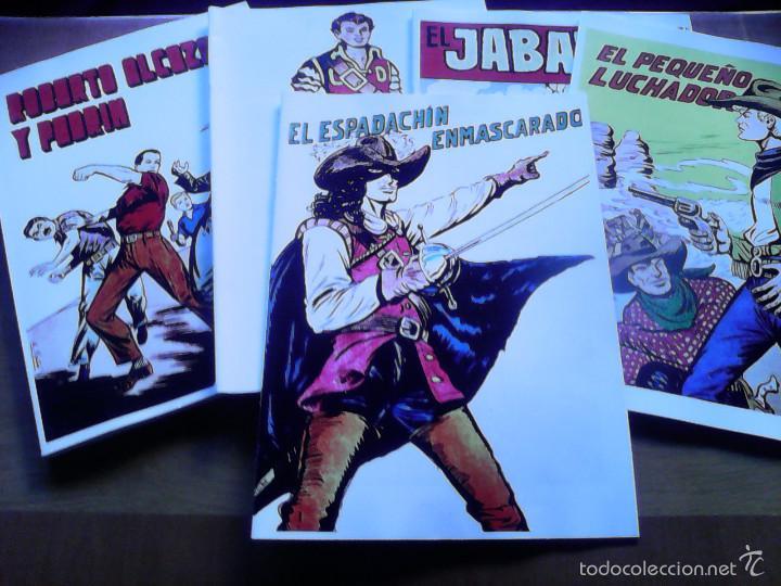 EL ESPADACHÍN ENMASCARADO. ALBUM CON TODAS LAS PORTADAS DE LA COLECCIÓN. 34 PÁGINAS (Tebeos y Comics - Valenciana - Espadachín Enmascarado)