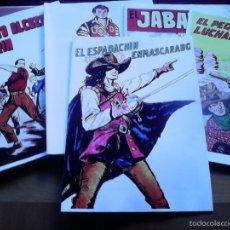 Tebeos: EL ESPADACHÍN ENMASCARADO. ALBUM CON TODAS LAS PORTADAS DE LA COLECCIÓN. 34 PÁGINAS. Lote 58965840