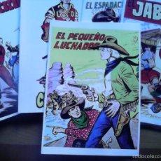Tebeos: EL PEQUEÑO LUCHADOR. ALBUM CON TODAS LAS PORTADAS DE LA COLECCIÓN ORIGINAL. 34 PÁGINAS.. Lote 58966055