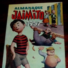 Tebeos: JAIMITO, ALMANAQUE 1957, EXCELENTE ESTADO DE CONSERVACION.. Lote 59720799