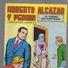 Tebeos: TEBEO. ROBERTO ALCAZAR Y PEDRIN EN EL TESORO DEL NAUFRAGO. 2º EPOCA. Nº 136.. Lote 59813684