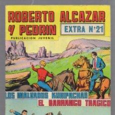 Tebeos: TEBEO. ROBERTO ALCAZAR Y PEDRIN. EXTRA Nº 21. LOS MALVADOS KURIPACHAS / EL BARRANCO TRAGICO. Lote 59813884