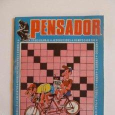 Livros de Banda Desenhada: EL PENSADOR Nº 3 REVISTA DE PASATIEMPOS. EDITORIAL VALENCIANA, AÑOS 70.. Lote 60100675