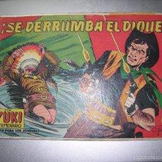 Tebeos: YUKI EL TEMERARIO SE DERRUMBA EL DIQUE Nº56. Lote 60177019
