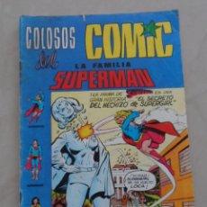 Tebeos: COLOSOS DEL COMIC - POSIBLE ENVIO GRATIS - LA FAMILIA SUPERMAN Nº 4 - VALENCIANA -. Lote 60367039