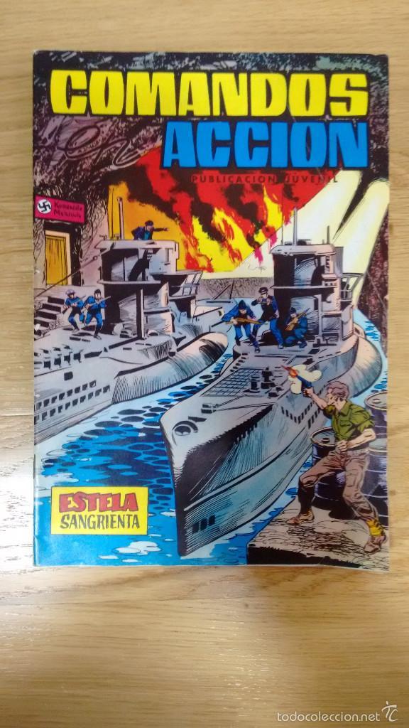COMANDOS EN ACCION ESTELA SANGRIENTA NUMERO 10 (Tebeos y Comics - Valenciana - Selección Aventurera)